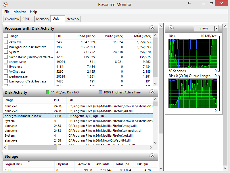 memory management fix windows 8